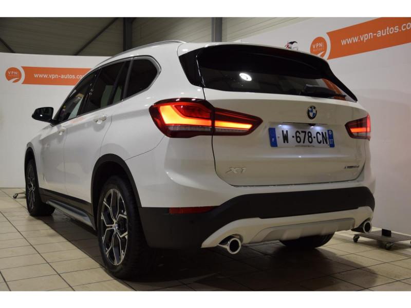 Bmw X1 xDrive 18d 150cv F48 LCI xLine PHASE 2 Blanc occasion à Riorges - photo n°4