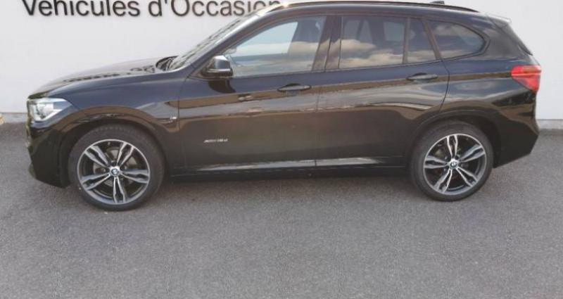 Bmw X1 xDrive18dA 150ch M Sport Noir occasion à METZ - photo n°4