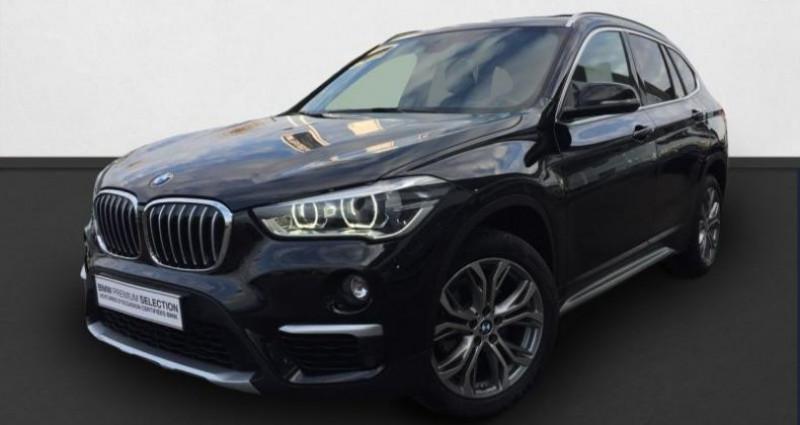 Bmw X1 xDrive18dA 150ch xLine Noir occasion à Chavelot