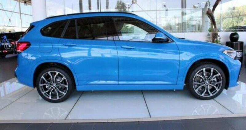 Bmw X1 xDrive20dA 190ch M Sport Bleu occasion à Boulogne-Billancourt - photo n°7