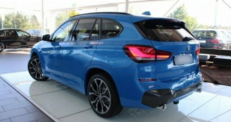 Bmw X1 xDrive20dA 190ch M Sport Bleu occasion à Boulogne-Billancourt - photo n°4