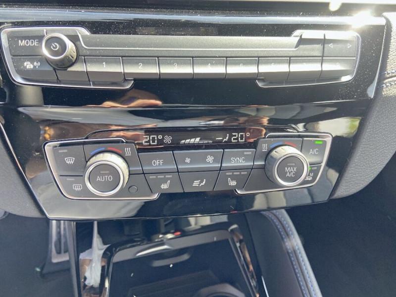 Bmw X2 (F39) XDRIVE 20D 190 BVA8 MSPORT GPS JA19 Caméra Gtie. 3ans Noir occasion à Montauban - photo n°11