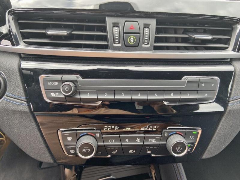 Bmw X2 (F39) XDRIVE 20D 190 BVA8 MSPORT GPS JA19 Caméra Gtie. 3ans Blanc occasion à Cahors - photo n°17