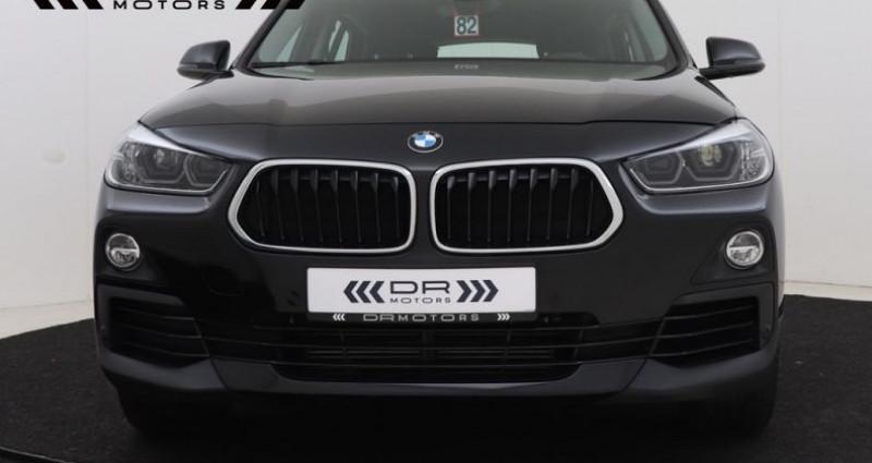 Bmw X2 sDrive 18iA - NAVIGATIE LED ALU 18'' 12M GARANTIE Noir occasion à Brugge - photo n°5