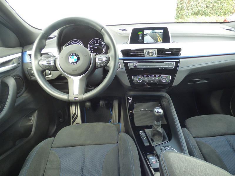 Bmw X2 sDrive18i 140ch M Sport Euro6d-T 129g Blanc occasion à Laval - photo n°7