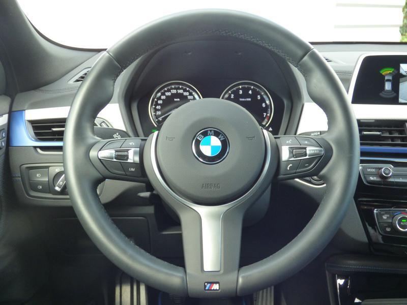 Bmw X2 sDrive18i 140ch M Sport Euro6d-T 129g Blanc occasion à Laval - photo n°8