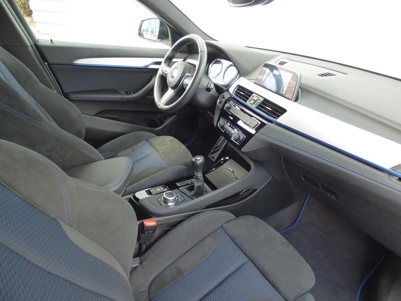 Bmw X2 sDrive18i 140ch M Sport Euro6d-T 129g Blanc occasion à Laval - photo n°9
