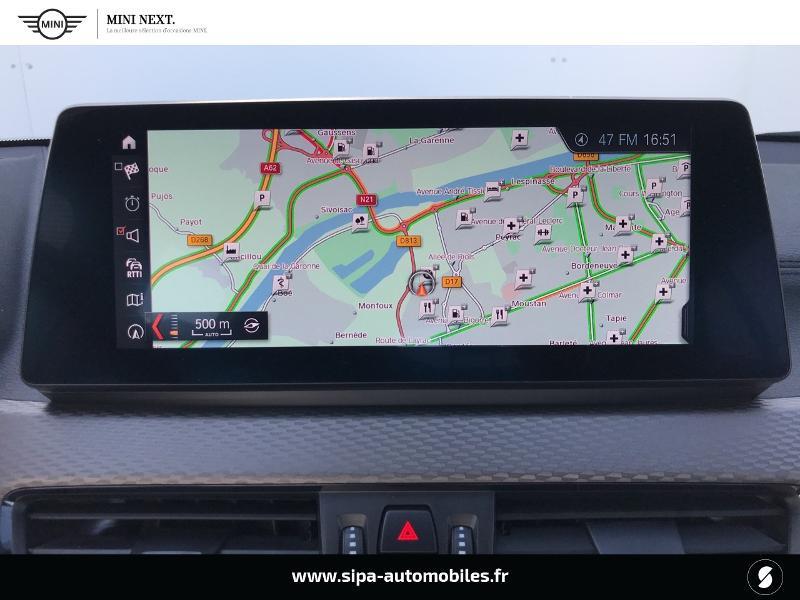 Bmw X2 sDrive18iA 140ch M Sport DKG7 Euro6d-T Noir occasion à Boé - photo n°10
