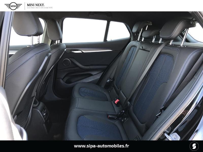 Bmw X2 sDrive18iA 140ch M Sport DKG7 Euro6d-T Noir occasion à Boé - photo n°19