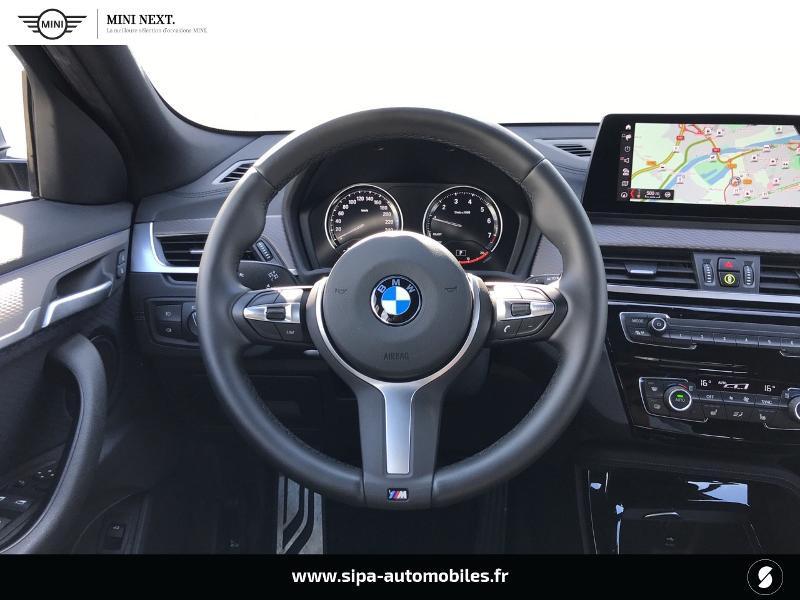Bmw X2 sDrive18iA 140ch M Sport DKG7 Euro6d-T Noir occasion à Boé - photo n°8