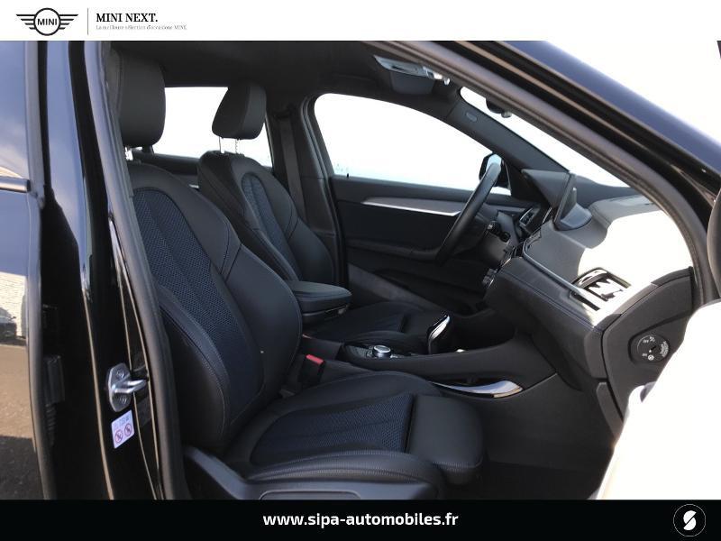 Bmw X2 sDrive18iA 140ch M Sport DKG7 Euro6d-T Noir occasion à Boé - photo n°15