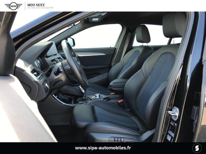 Bmw X2 sDrive18iA 140ch M Sport DKG7 Euro6d-T Noir occasion à Boé - photo n°16