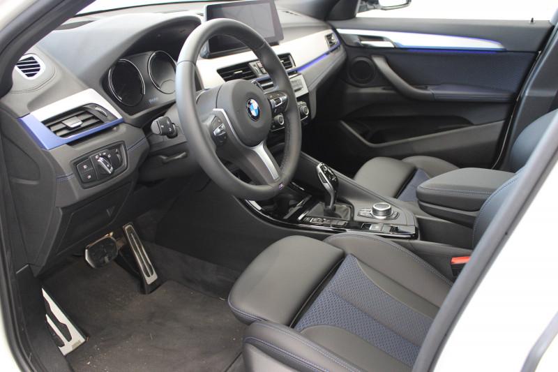 Bmw X2 X2 sDrive 18d 150 ch BVA8 M Sport 5p Blanc occasion à Lescar - photo n°4