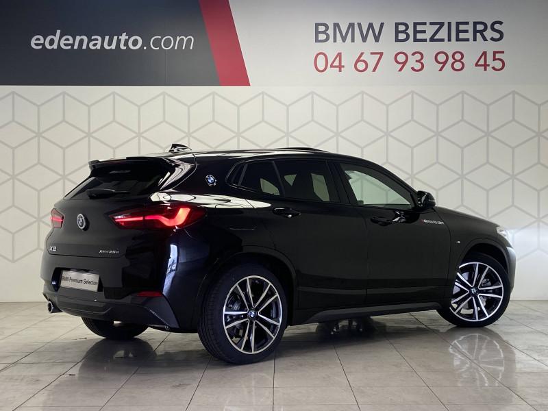 Bmw X2 X2 xDrive 25e 220 ch BVA6 M Sport 5p Noir occasion à Béziers - photo n°2