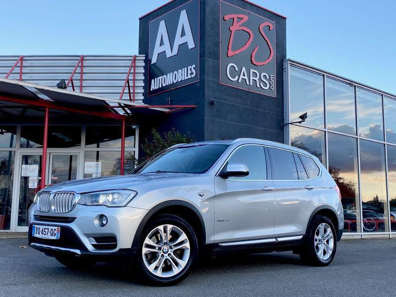 Bmw X3 occasion 2015 mise en vente à Castelmaurou par le garage BS CARS.COM - photo n°1