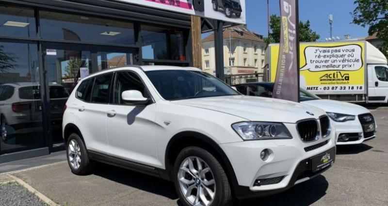 Bmw X3 20dA 184 Luxury Line xDrive Blanc occasion à WOIPPY