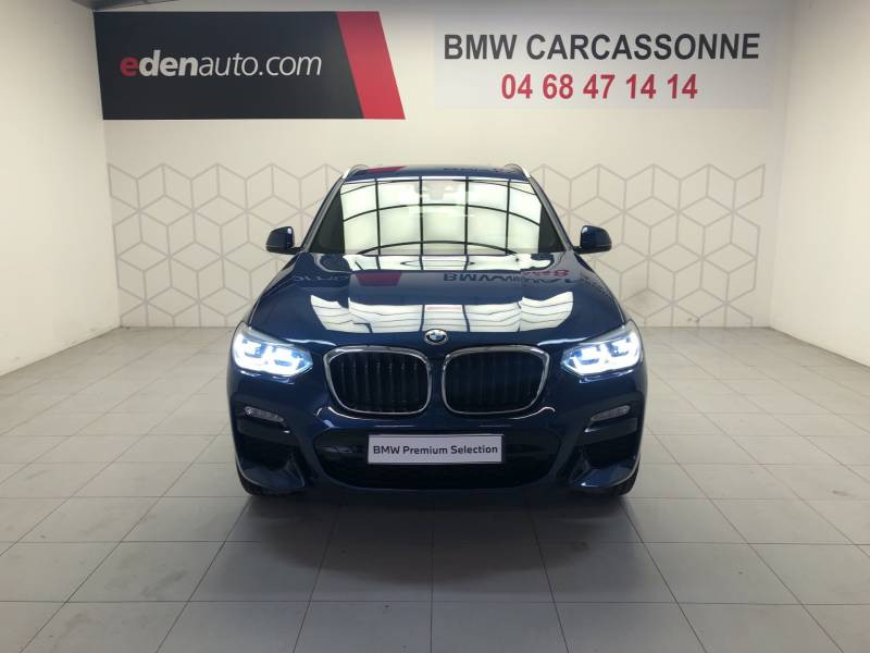 Bmw X3 G01 xDrive20d 190ch BVA8 M Sport Bleu occasion à Carcassonne - photo n°9