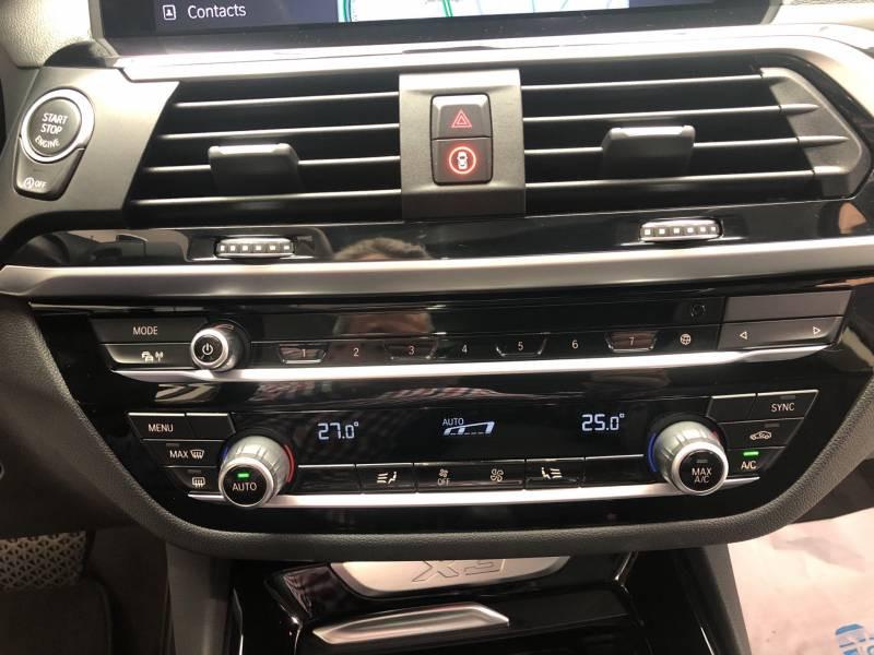 Bmw X3 G01 xDrive20d 190ch BVA8 xLine Blanc occasion à Carcassonne - photo n°10