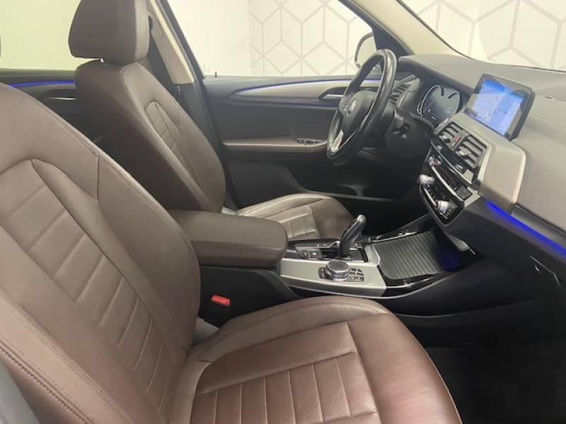 Bmw X3 G01 xDrive30d 265ch BVA8 Luxury Blanc occasion à Carcassonne - photo n°9