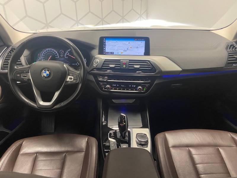 Bmw X3 G01 xDrive30d 265ch BVA8 Luxury Blanc occasion à Carcassonne - photo n°5
