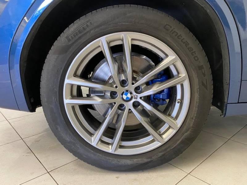 Bmw X3 G01 xDrive30d 265ch BVA8 M Sport Bleu occasion à Béziers - photo n°9