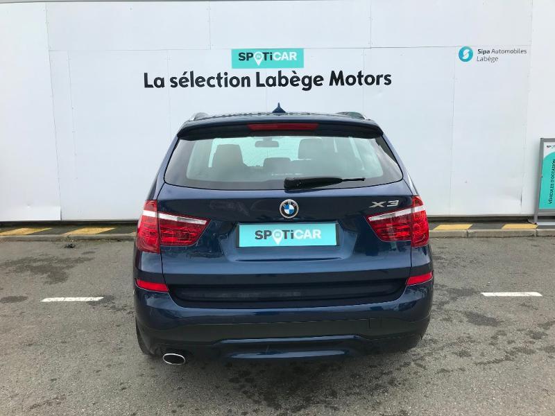 Bmw X3 sDrive18d 150ch Lounge Plus Bleu occasion à Labège - photo n°5