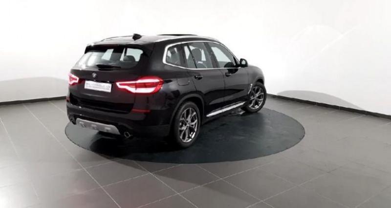 Bmw X3 sDrive18dA 150ch xLine Euro6c Noir occasion à Orléans - photo n°2