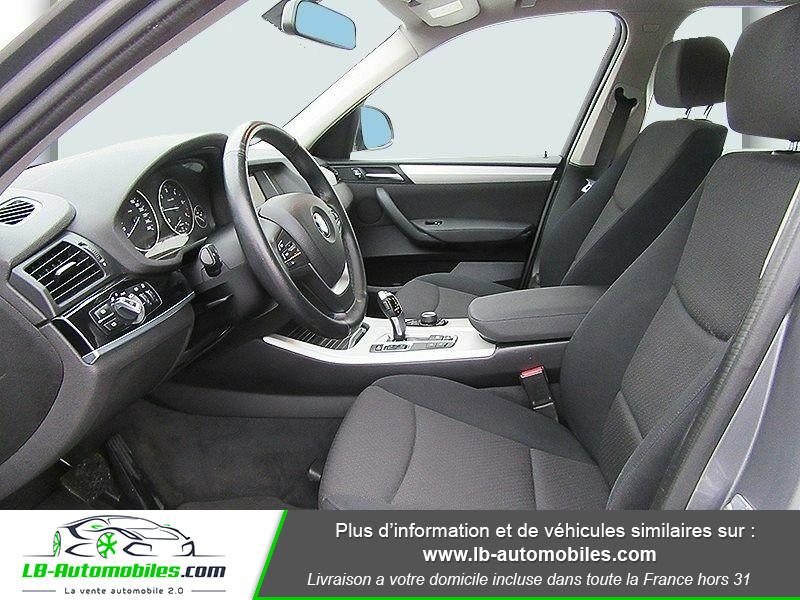 Bmw X3 xDrive 20d 190 ch Gris occasion à Beaupuy - photo n°9