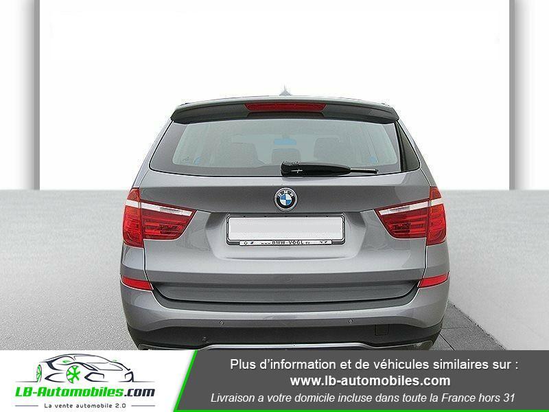 Bmw X3 xDrive 20d 190 ch Gris occasion à Beaupuy - photo n°7