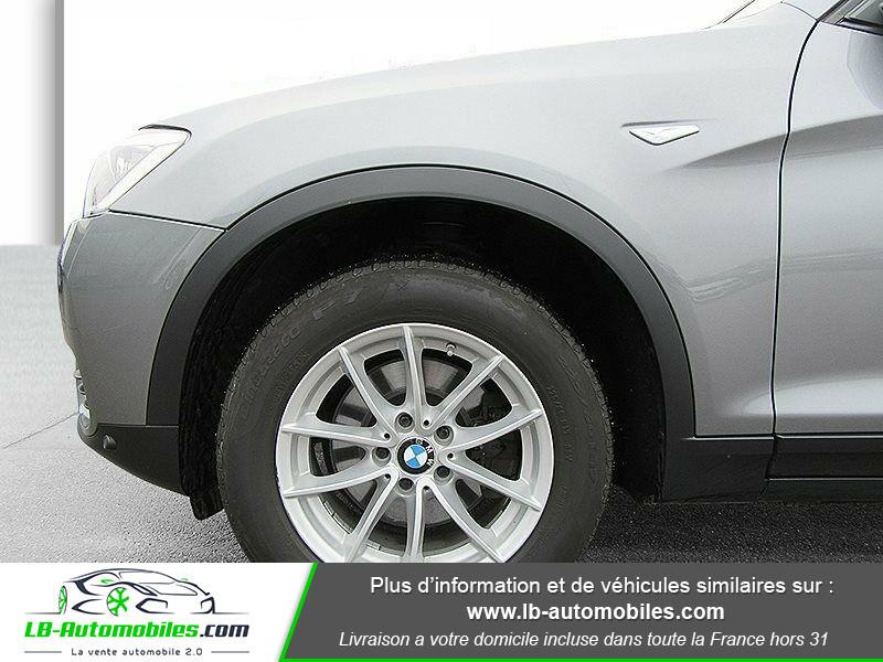 Bmw X3 xDrive 20d 190 ch Gris occasion à Beaupuy - photo n°6