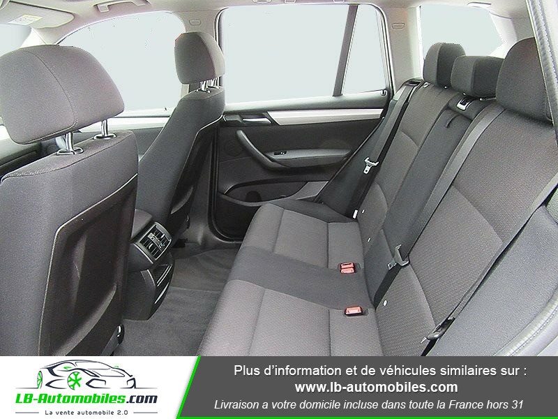 Bmw X3 xDrive 20d 190 ch Gris occasion à Beaupuy - photo n°13