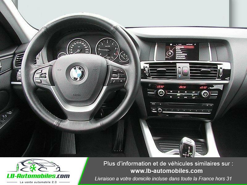 Bmw X3 xDrive 20d 190 ch Gris occasion à Beaupuy - photo n°11