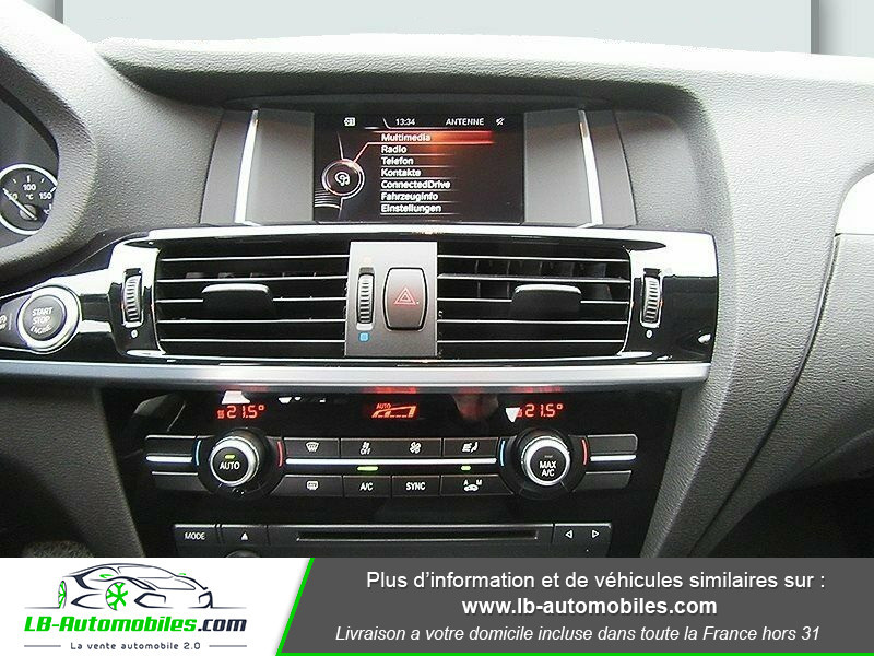 Bmw X3 xDrive 20d 190 ch Gris occasion à Beaupuy - photo n°12