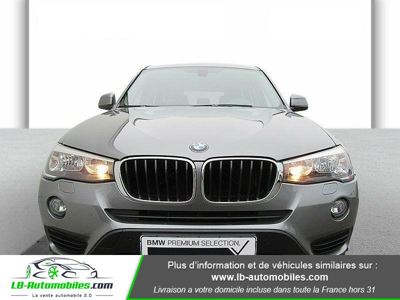 Bmw X3 xDrive 20d 190 ch Gris occasion à Beaupuy - photo n°4