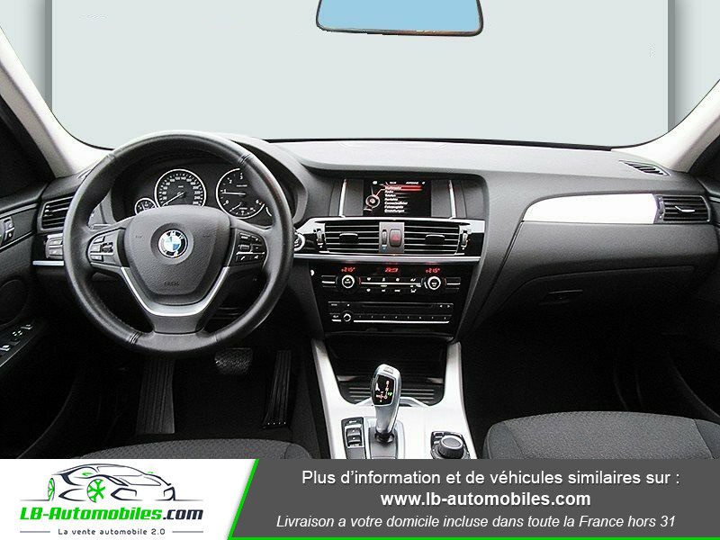 Bmw X3 xDrive 20d 190 ch Gris occasion à Beaupuy - photo n°2