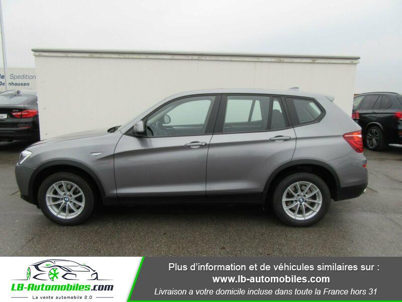 Bmw X3 xDrive 20d 190 ch Gris occasion à Beaupuy - photo n°5
