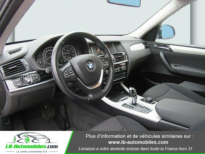 Bmw X3 xDrive 20d 190 ch Gris occasion à Beaupuy - photo n°10