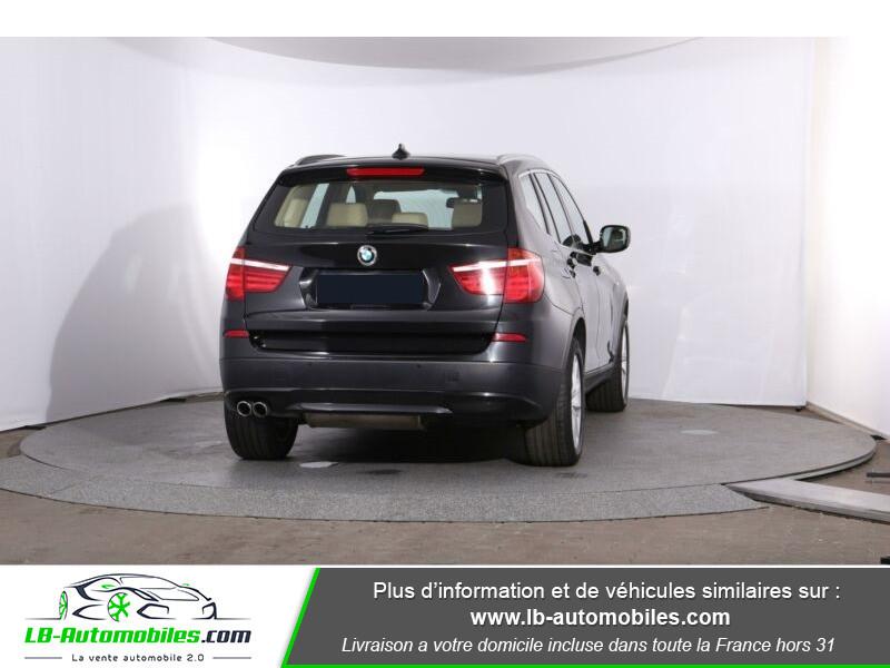 Bmw X3 xDrive 30d 258 ch Noir occasion à Beaupuy - photo n°3
