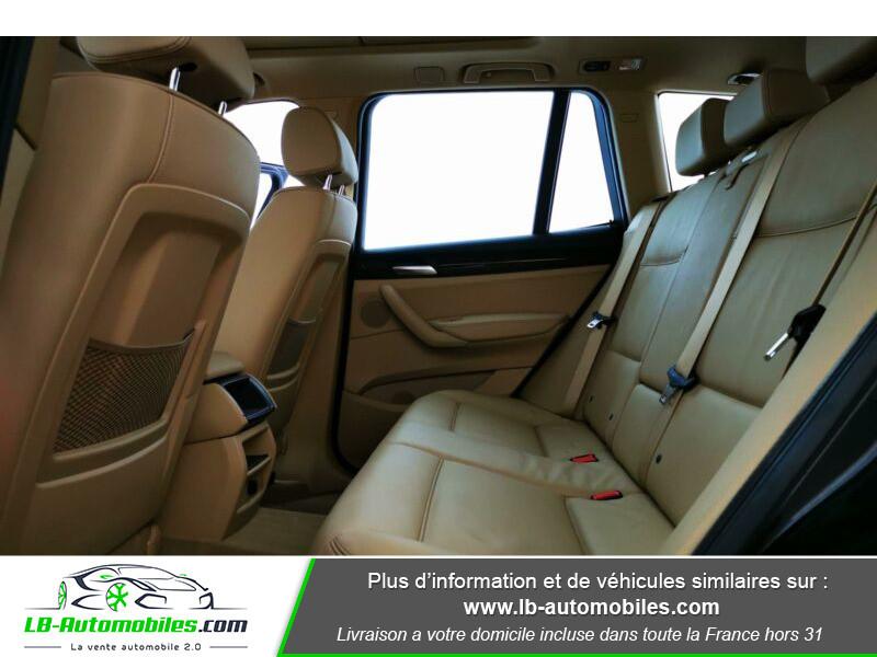 Bmw X3 xDrive 30d 258 ch Noir occasion à Beaupuy - photo n°5