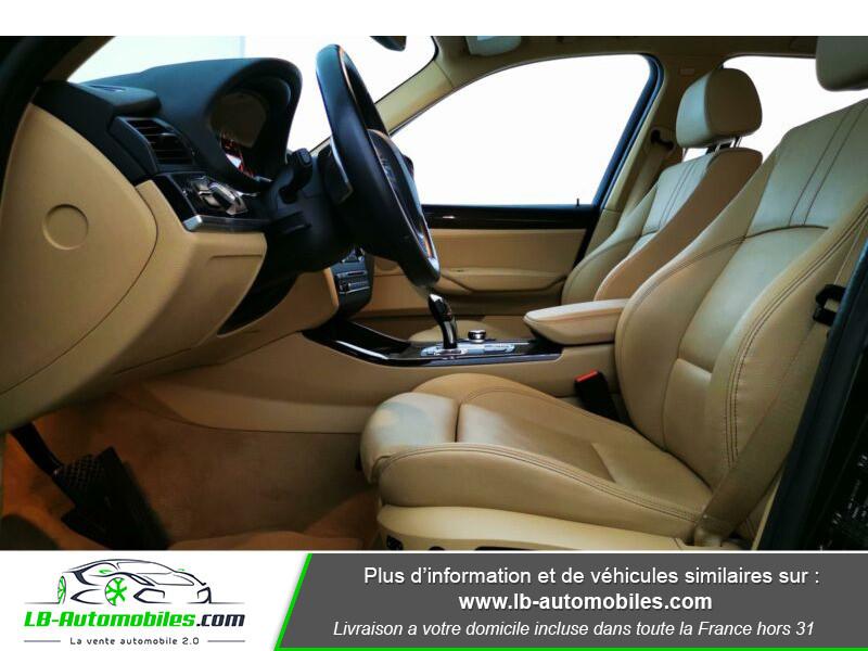 Bmw X3 xDrive 30d 258 ch Noir occasion à Beaupuy - photo n°4