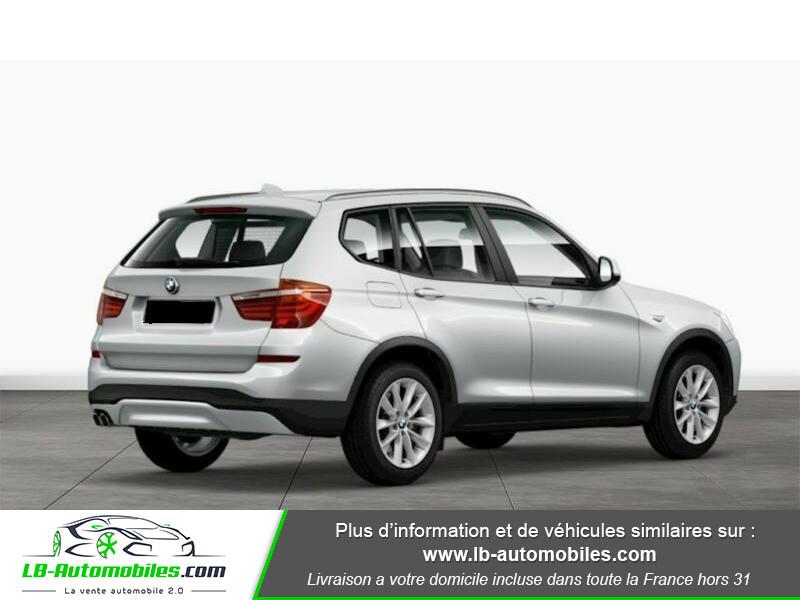 Bmw X3 xDrive 30d 258 ch Argent occasion à Beaupuy - photo n°3