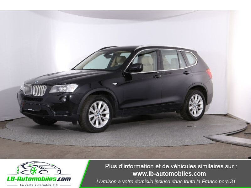 Bmw X3 xDrive 30d 258 ch Noir occasion à Beaupuy