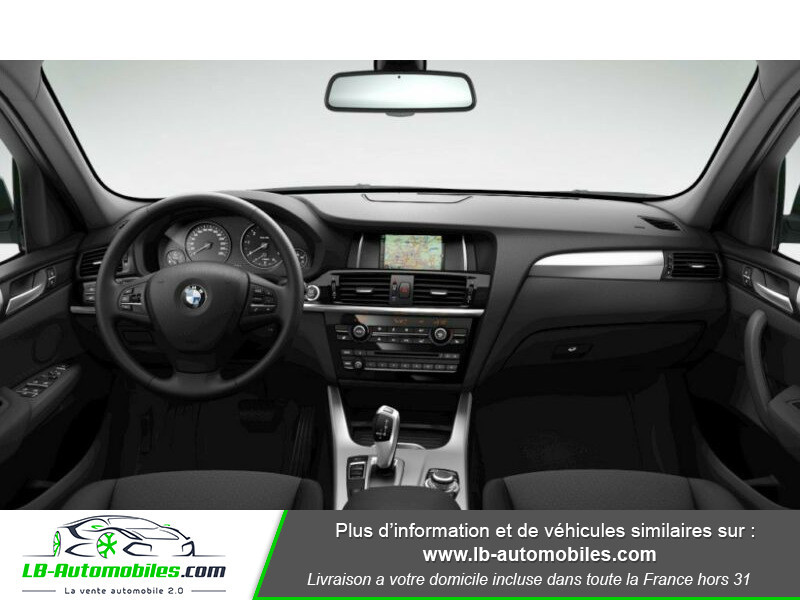 Bmw X3 xDrive 30d 258 ch Argent occasion à Beaupuy - photo n°2