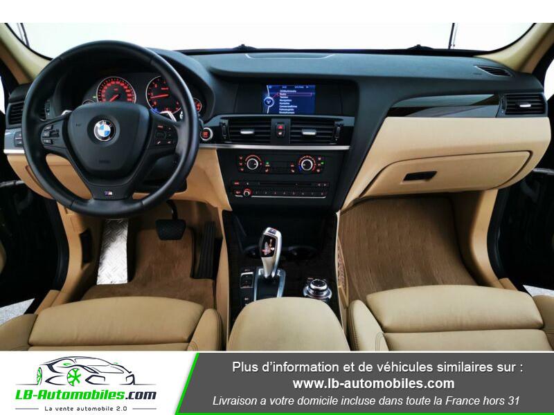 Bmw X3 xDrive 30d 258 ch Noir occasion à Beaupuy - photo n°2