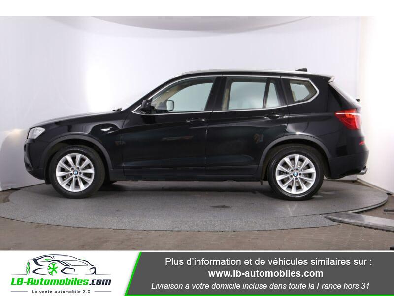 Bmw X3 xDrive 30d 258 ch Noir occasion à Beaupuy - photo n°6
