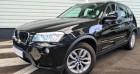 Bmw X3 xDrive20dA 184ch Excellis Noir à Sarrebourg 57