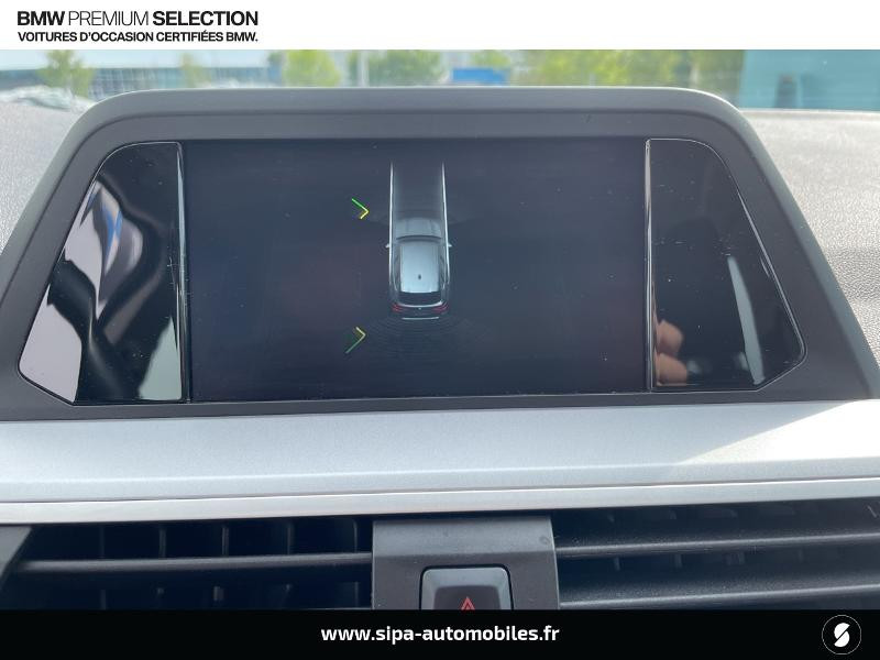 Bmw X3 xDrive20dA 190ch Lounge Euro6c Noir occasion à Montauban - photo n°16