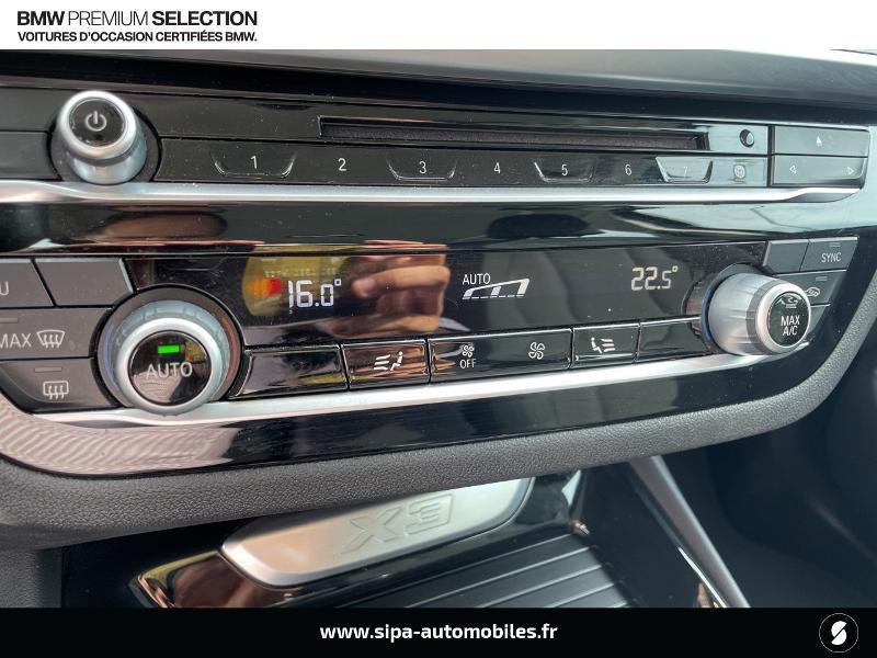 Bmw X3 xDrive20dA 190ch Lounge Euro6c Noir occasion à Montauban - photo n°20