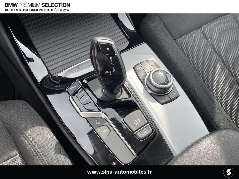 Bmw X3 xDrive20dA 190ch Lounge Euro6c Noir occasion à Montauban - photo n°12