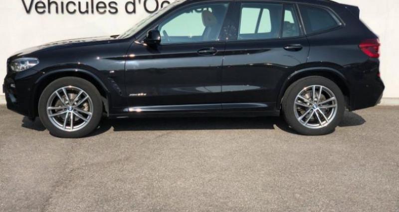 Bmw X3 xDrive20dA 190ch M Sport Noir occasion à METZ - photo n°3